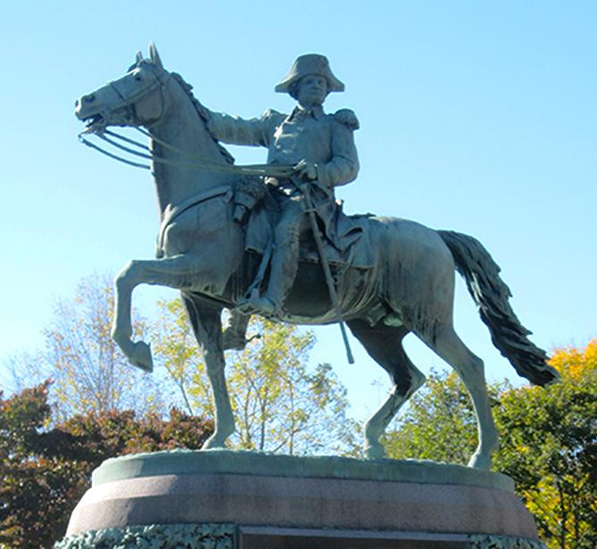 Putnam Bronze Horse 4