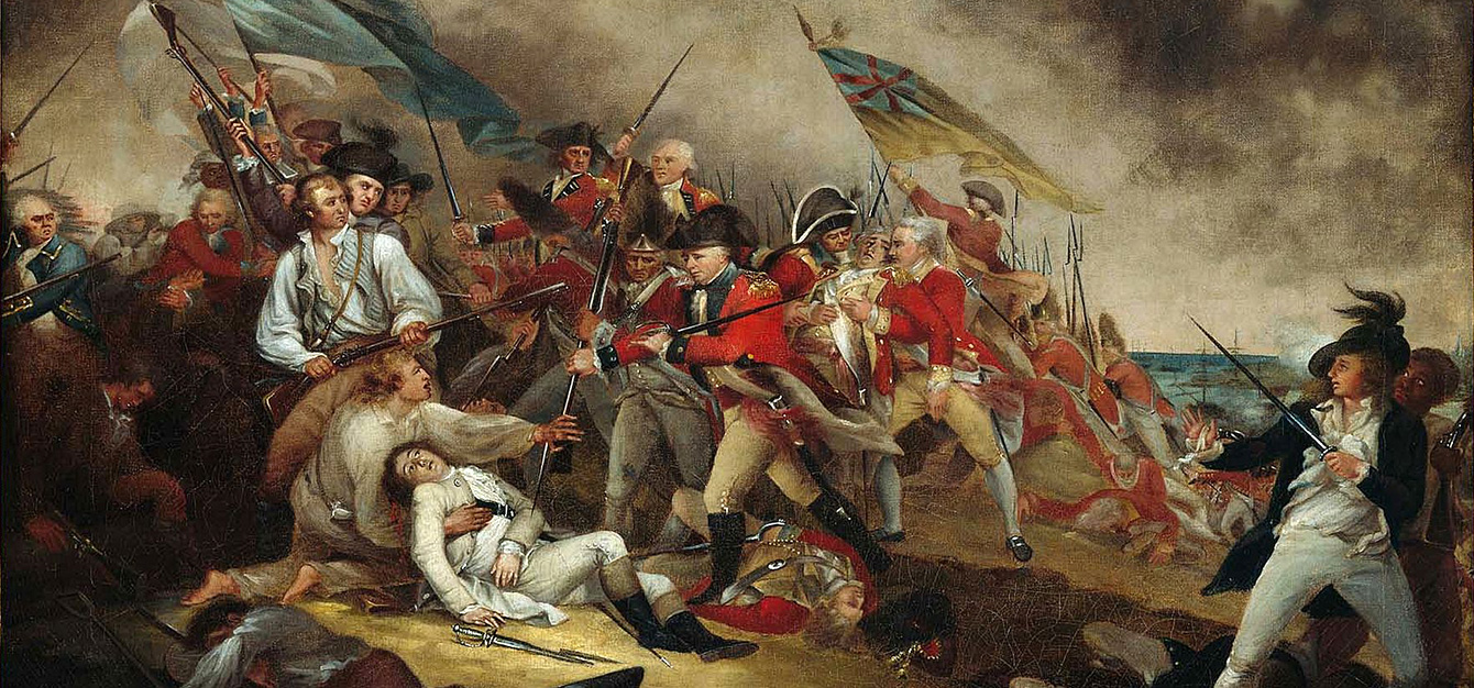 The Death Of General Warren At The Battle Of Bunker's Hill, 17 June, 1775